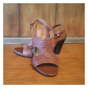 Brown Euro Soft by Sofft Sandals
